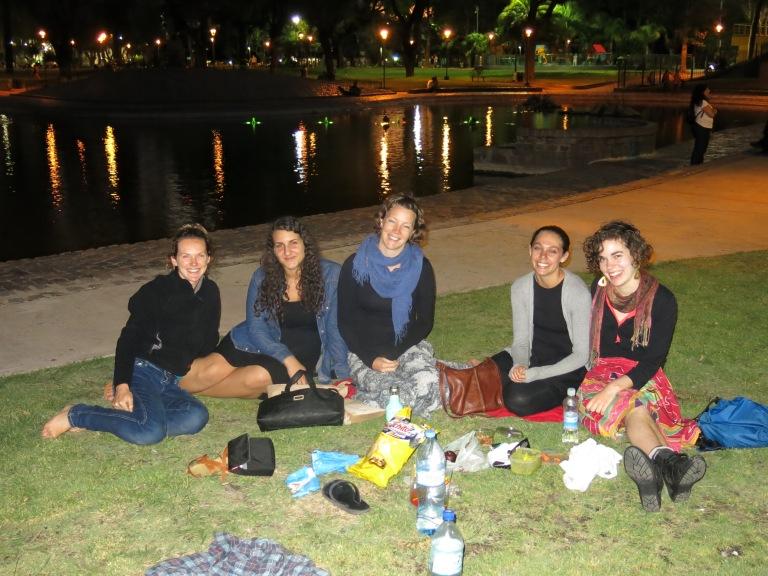Picnics in the park
