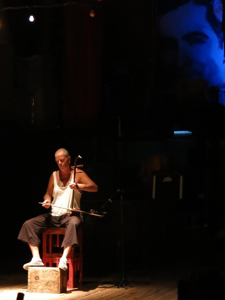 Cello performance