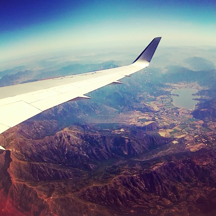 Buenos Aires bound via Santiago